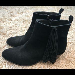 Via Spiga Black Ankle Boots Size 8.5